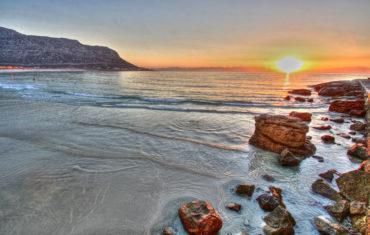 Sunrise at Fish Hoek Beach